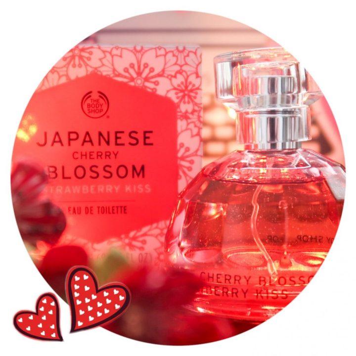 Valentijn, Valentine, Bodyshop, EDT, Eau de toilette, parfum, Cherry, strawberry, Japan, blossom, beauty, blogger, yustsome