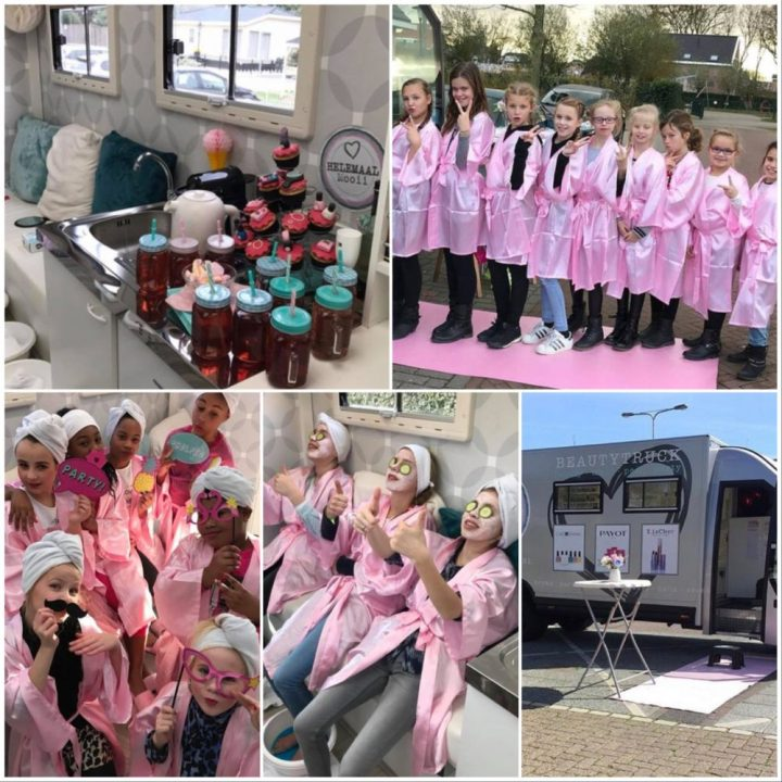BEAUTYTRUCK, Kinder, feestje, beauty, girls, party