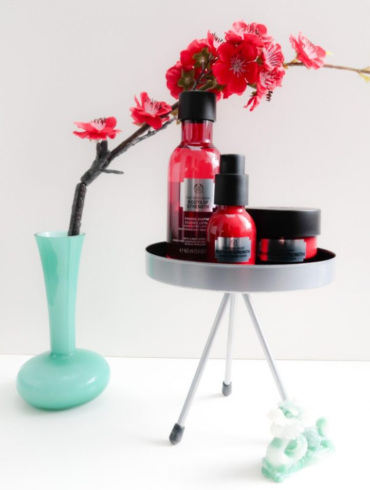 Roots, of, youth, tbs, the body shop, huid, verbetering, droog, hydrateren,