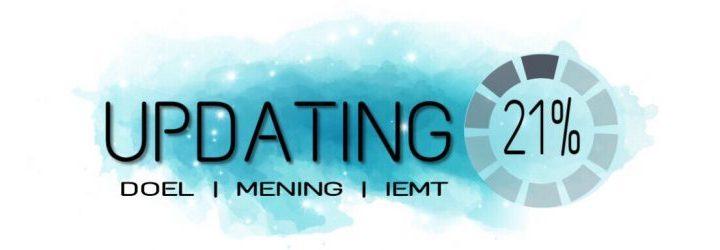 Updating, EMDR, IEMT, trauma, mening, elk, fitness, bodybuilding, doel, blog,