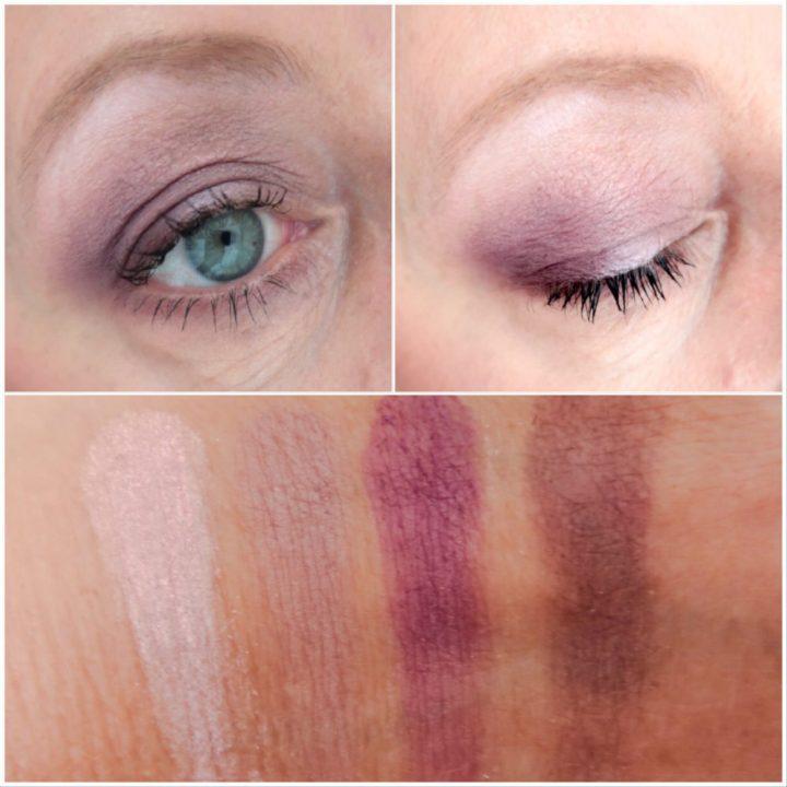 Dr. Hauschka, oogschaduw, palette, makeup, look, MUA, yustsome, lips, lipgloss, swatches