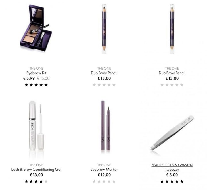 Oriflame, wenkbrauw, poeder, palette, eye, brow, beauty, blog, post