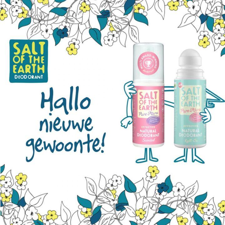 Salt of the Earth, deodorant, vegan, biologisch, natuurlijk, zouten, dames, heren, vrij, van, aluminium, alcohol, beauty, beautysome, 1