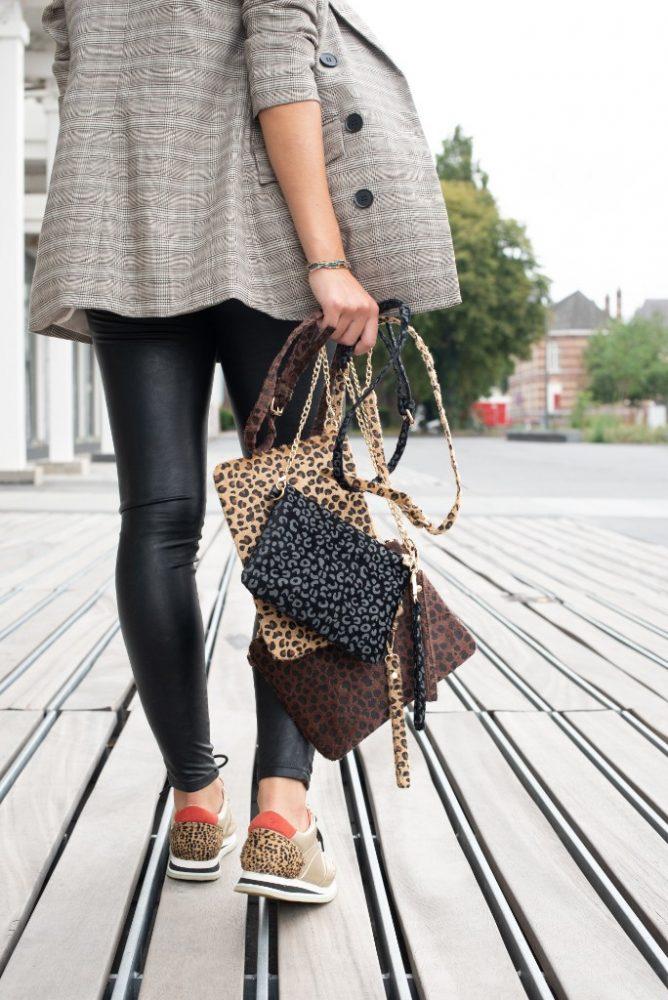 Tas, restmateriaal, jozemiek, luipaard, design, ontwerp, tas, collectie, sieraden, accessoire, fashion, mode, beautysome
