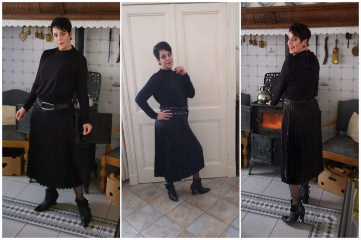 Feest, mama, papa, 25 jaar, geplooide, rok, plated skirt, fashion, over40, beautysome, plooirok, 3