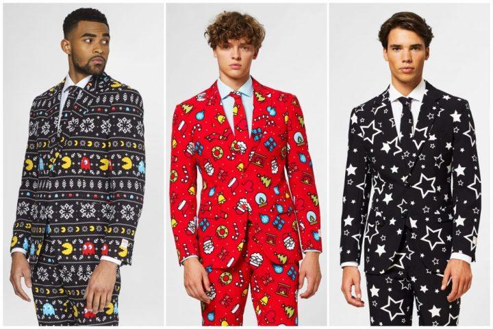 OppoSuits, heren, dames, kind, kostuum, feest, kerst, Halloween, star wars, pacman, horror, sterren, jasje, rok, broek