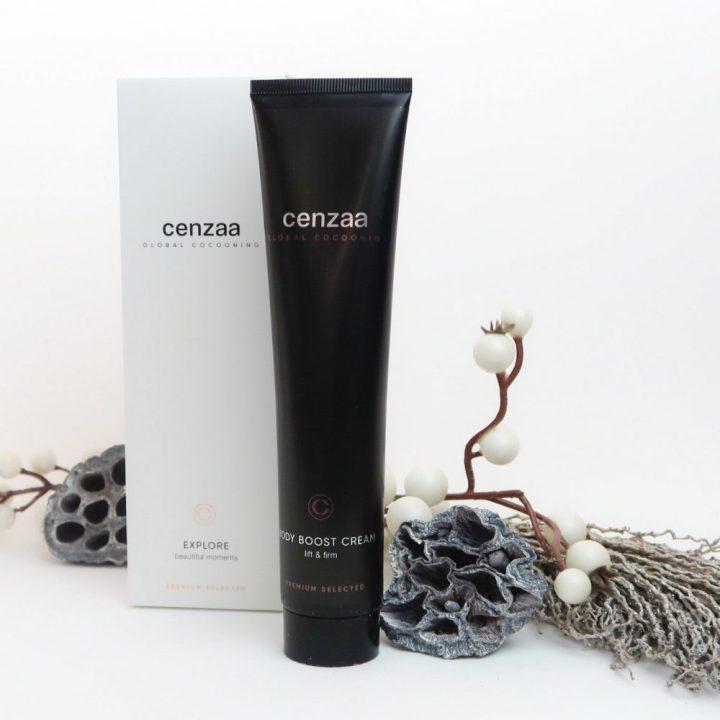 Cenzaa, body, Cream, boost, huid, verbetering, versteviging, strakker, liften, firm, lift, beautysome