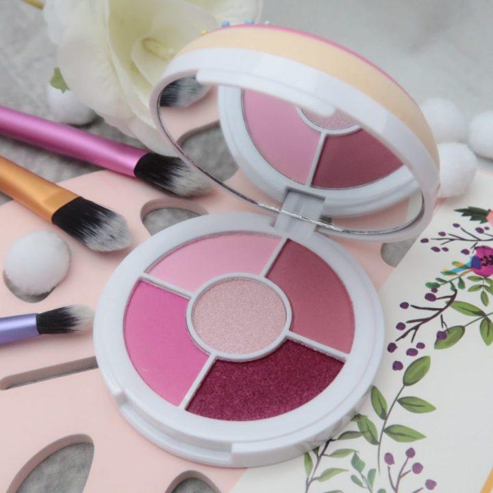 I ❤️ Revolution, make-Ups, Eyeshadows, donuts, glaze, smelling, pink, beautysome, Swatch, review, blog