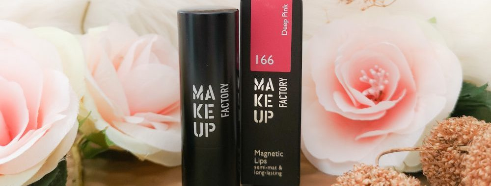 Make-up Factory, makeup, Factory, lipstick, magnetic, matte, Deep, pink, beauty, Mueller, DA, Etos, beautysome