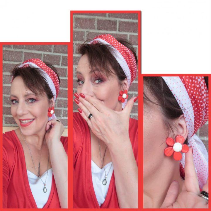 Hemdvoorhem, overhemd, polo, T-shirt, mode, mannen, heren, retro, stijl, bloes, blouse, jurk, rood, dames, beautysome