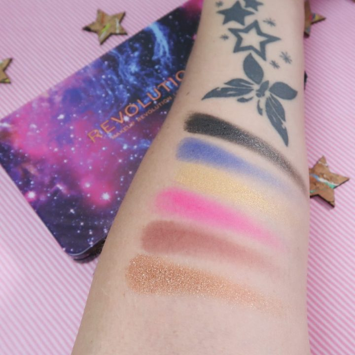Revolution, flawless, constellation, revolution, bright, colors, eyeshadow, sparkle, beauty, new, beautysome