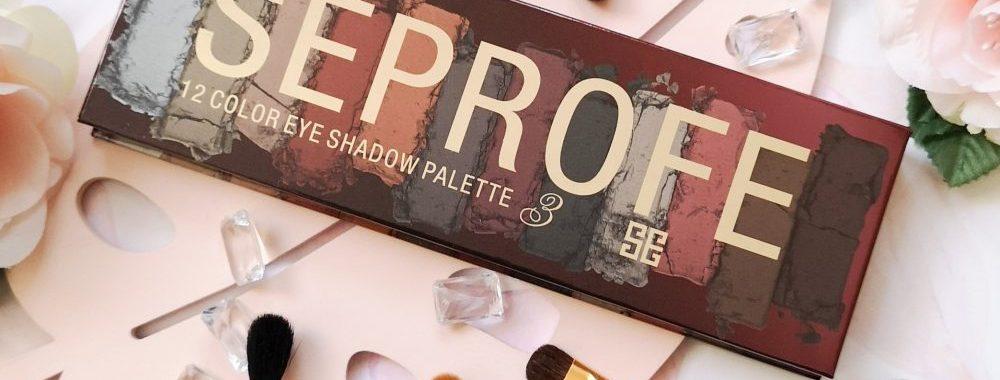 Seprofe, makeup, review, eyeshadow, palette, review, beautysome, ooglook, mua, makeup artist