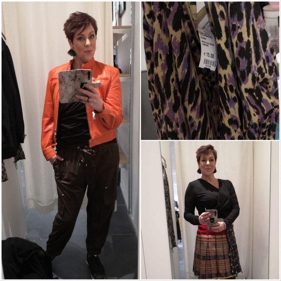 Dries van noten, vintage, Leopard, Animal, print, purple, shirt, long sleeve, reloved exchange, Amsterdam, beautysome