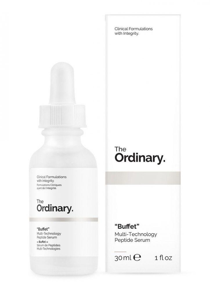 the ordinary, buffet, serum, huid, verbetering, ouder, 50 plus