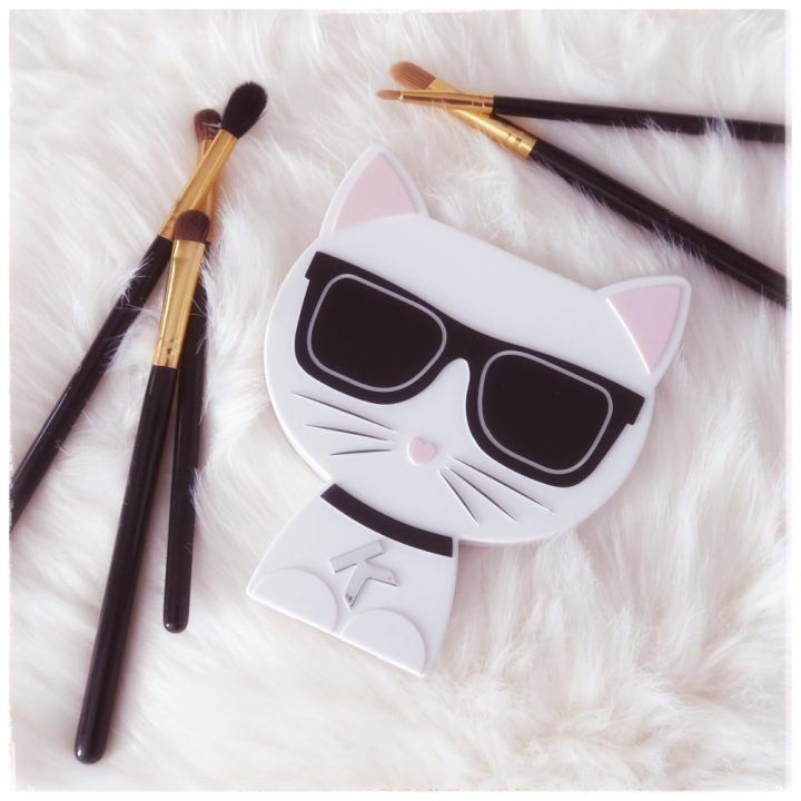 Karl, Lagerfeld, choupette, eyeschadow, palette, oogschaduw, TK Maxx, nudes, makeup, look, beauty, yustsome, beautysome