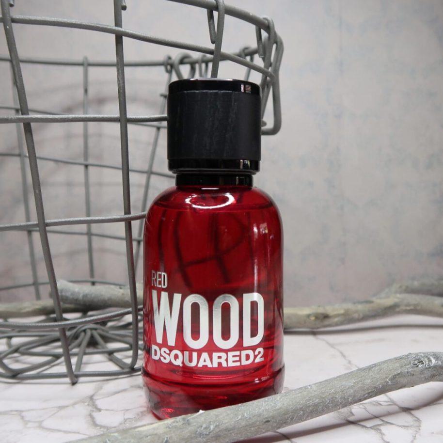 dsquared2, red, wood, EDT, geur, fris, sensueel, magnolia, cranberry, review, beautysome, lekker, jong, oud, test