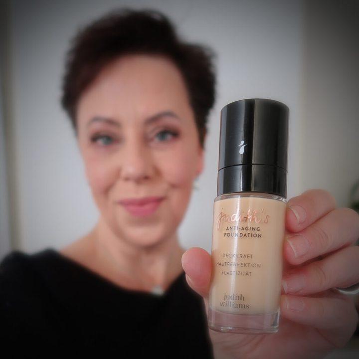 Judith Williams, anti-aging, foundation, rijpe, huid, oudere, haut, alter, 50 plus, makeup, make-up, beautysome, schoonheid, matte, dekking