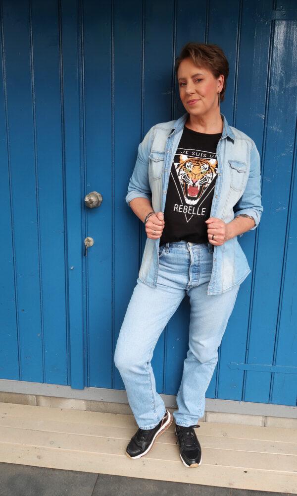 Levis 501, jeans, old, fashion, new, trend, spijkerbroek, kringloop, koopje, 50 plus, woman, vrouw, hoge taille, beautysome, yustsome