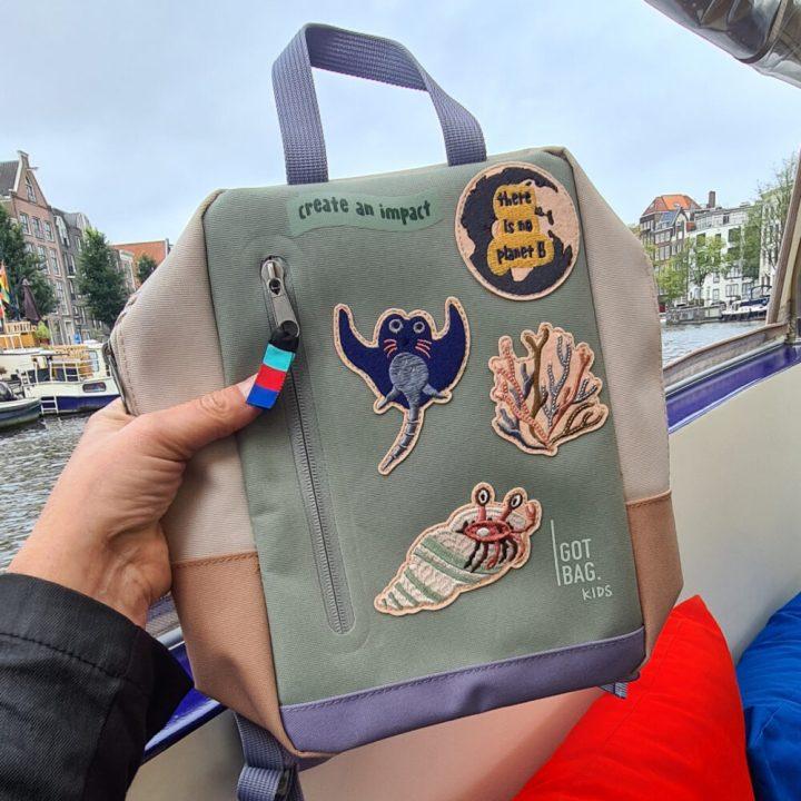 blogboot, marstyle, gotbag, gardena, starboard, amsterdam, recycle, plastic, varen, feestje, combisystem, hark, schop, bezem, kinder, rugzak, got bag 6