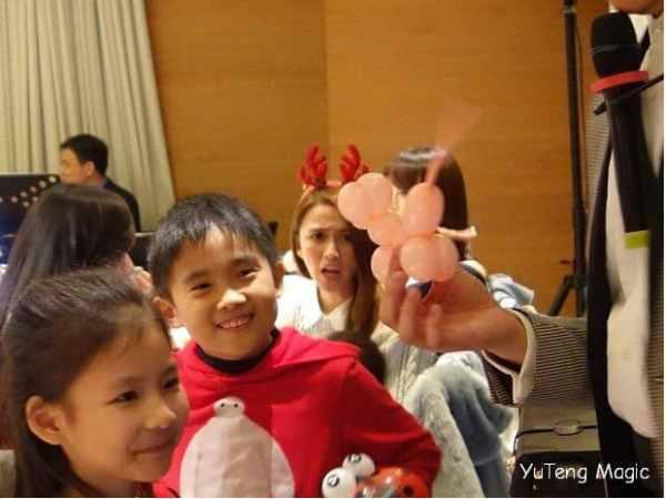 聖誕魔術表演_ W Hotel 009