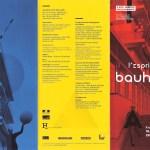 2016年11月フランス短期旅行日記2:パリでのエクスポジション「バウハウスの精神」(L'esprit du Bauhaus)