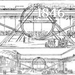 宙返りジェットコースターCentrifugal Railway