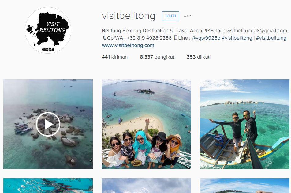 Contoh membangun kolam bisnis via instagram