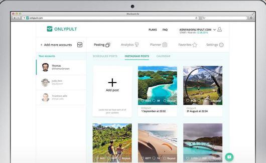Homepage Onlypult