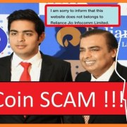 Fake news of Reliance Jio Coin launching viral on internet. It reports initial Price offering is RS 100.