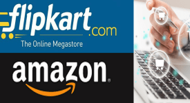 Online retail space - Amazon, Flipkart
