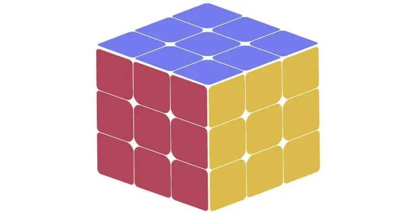 [魔術方塊]另類解法 第一層角