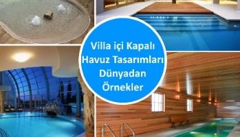 Villa içi Kapalı Havuz Tasarımları