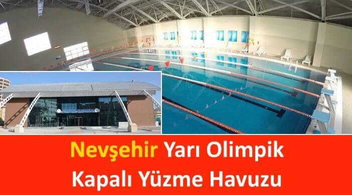 Nevşehir Yarı Olimpik Kapalı Yüzme Havuzu