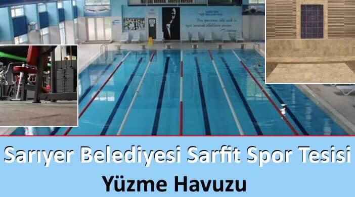 Sarıyer Belediyesi Sarfit Spor Tesisi Yüzme Havuzu