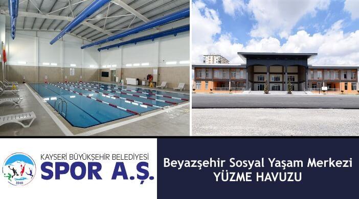 Kayseri Büyükşehir Belediyesi Kocasinan Beyazşehir Sosyal Yaşam Merkezi Yüzme Havuzu