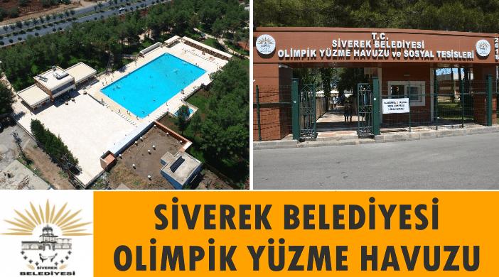 Şanlıurfa Siverek Belediyesi Olimpik Yüzme Havuzu