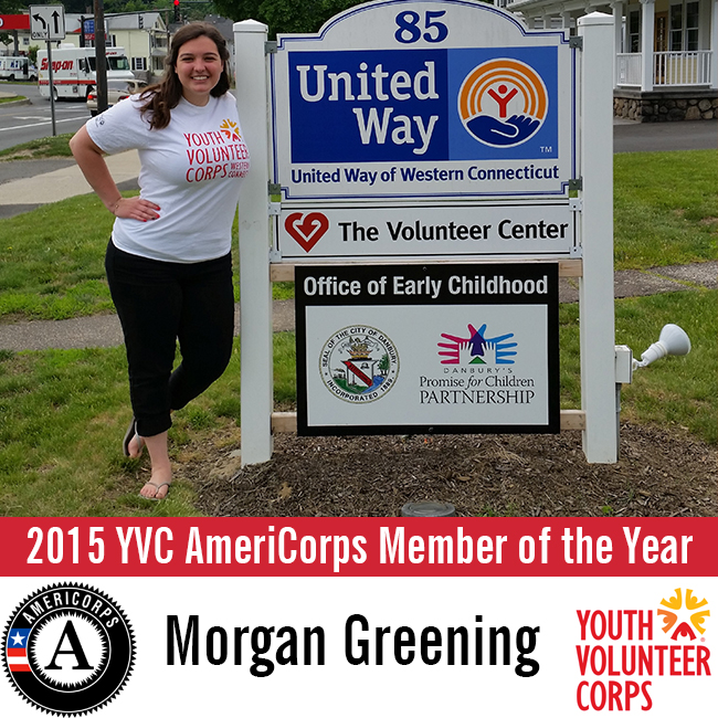 10.30.15 2015 YVC AmeriCorps Member of the Year