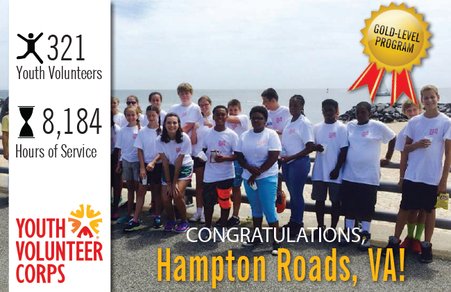 Congratulations Hampton Roads