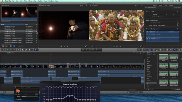 Formations Final Cut Pro X