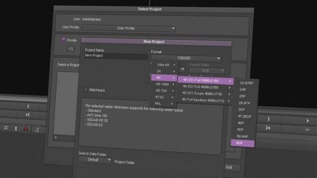 Adid Media Compose, monter en 4K