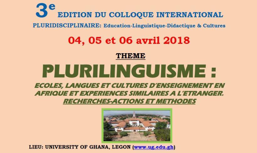 Colloque Ghana avril 2018