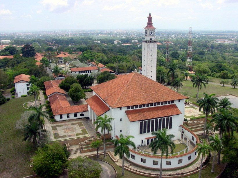 Campus de l'Université Legon du Ghana