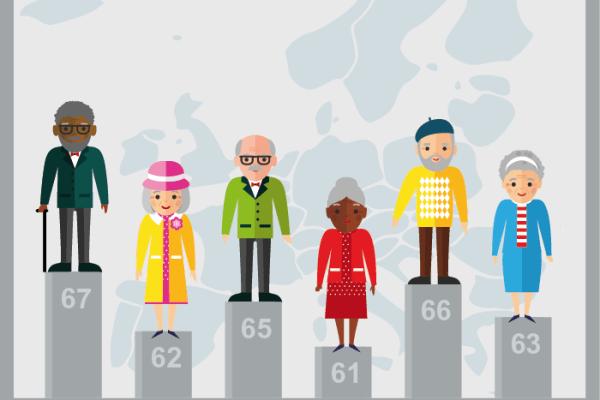 Ages légaux de départ à la retraite dans les pays européens - CLEISS