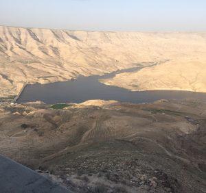 Barrage au sud de Kerak