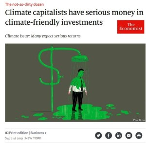 The Economist : Climate Capitalists