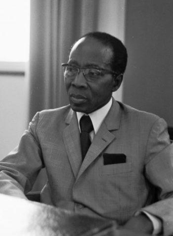 Léopold Sédar Senghor, 1975