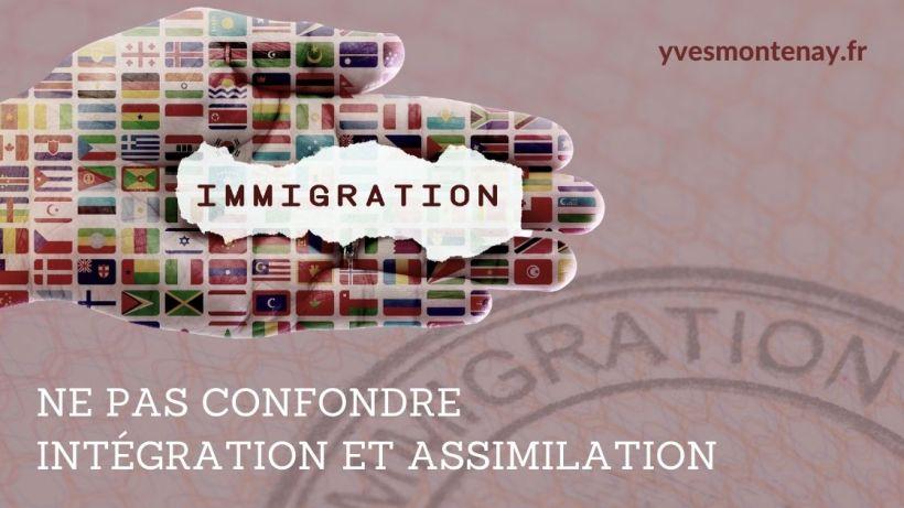 immigration intégration et assimilation