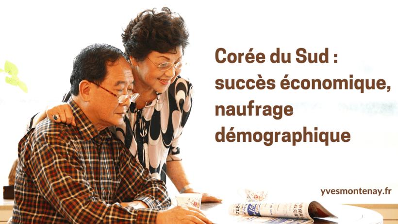 Corée du Sud _ succès économique, naufrage démographique