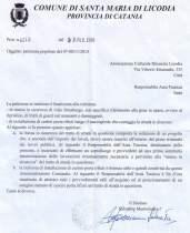 La risposta del sindaco Mastroianni