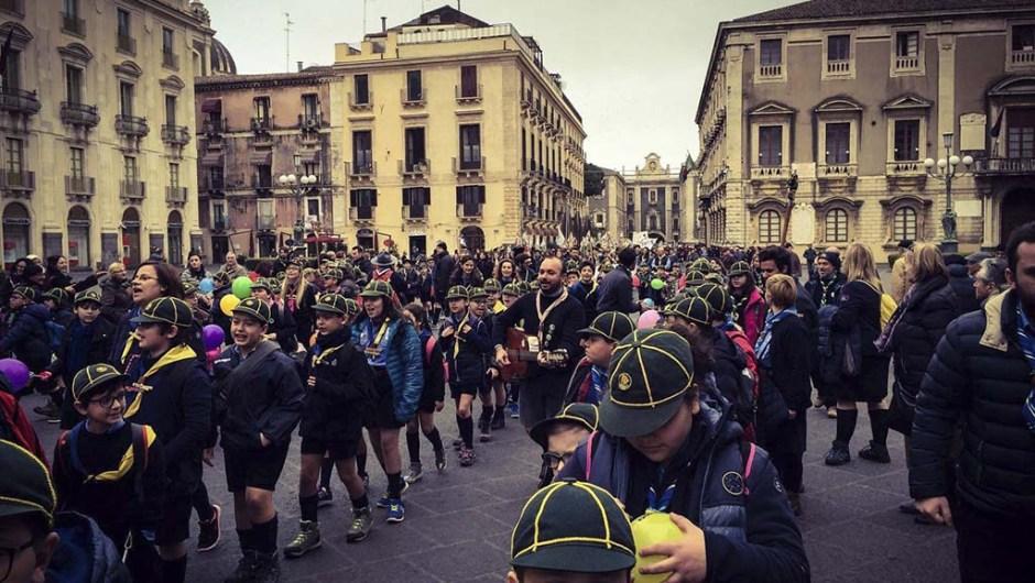 Catania, celebrato il Giubileo Scout della Misericordia